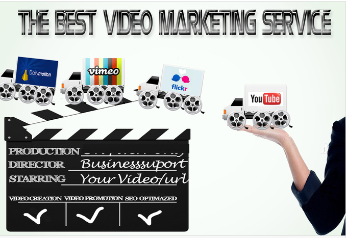 do Video SEO, Create and Submit your video in top tube sites with website link