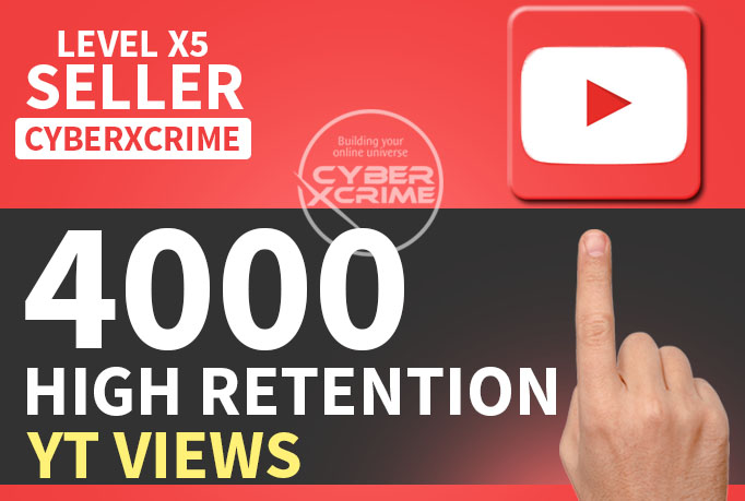 Add 4000 FAST High Retention YT Views