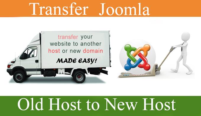 I will move joomla website into new hosting