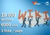I will do 18000 contextual backlinks from 6000 WIKI pages including real seo edu links @@#$%%
