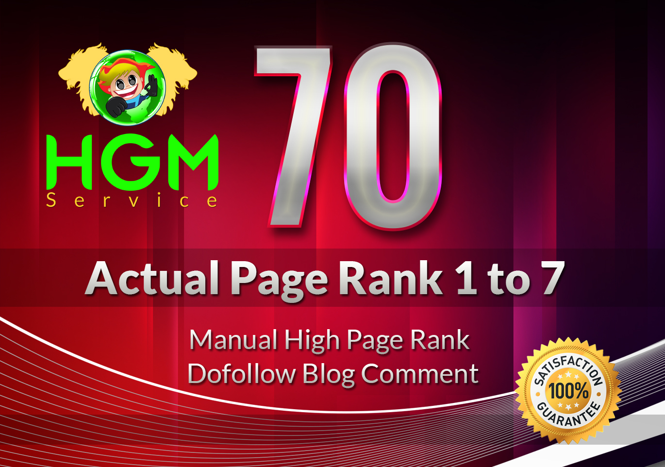 I Will Do 70 Manual DoFollow Blog Comment On Actual Page Rank 1 Up To 7