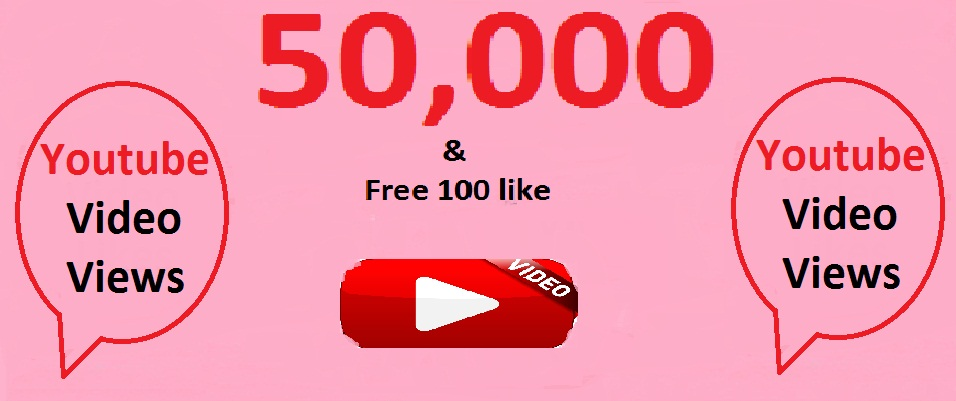 50000 views and 150 lik your youtube video