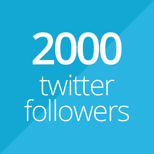 2000 followers
