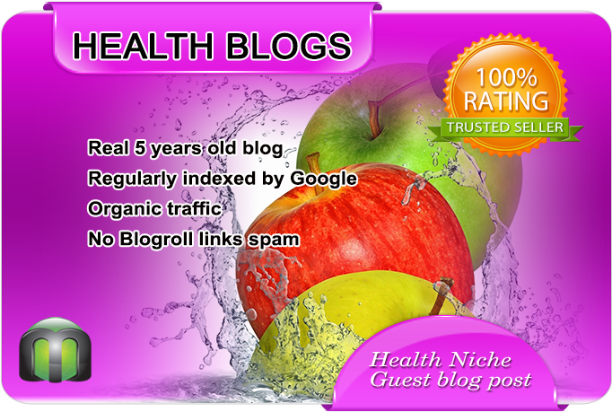 Write and Publish Health Guest Post on a nice HEALTH blog