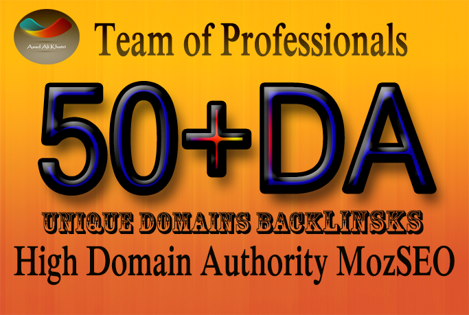 do 50 links High Domain Authority 50 Plus MozSeo