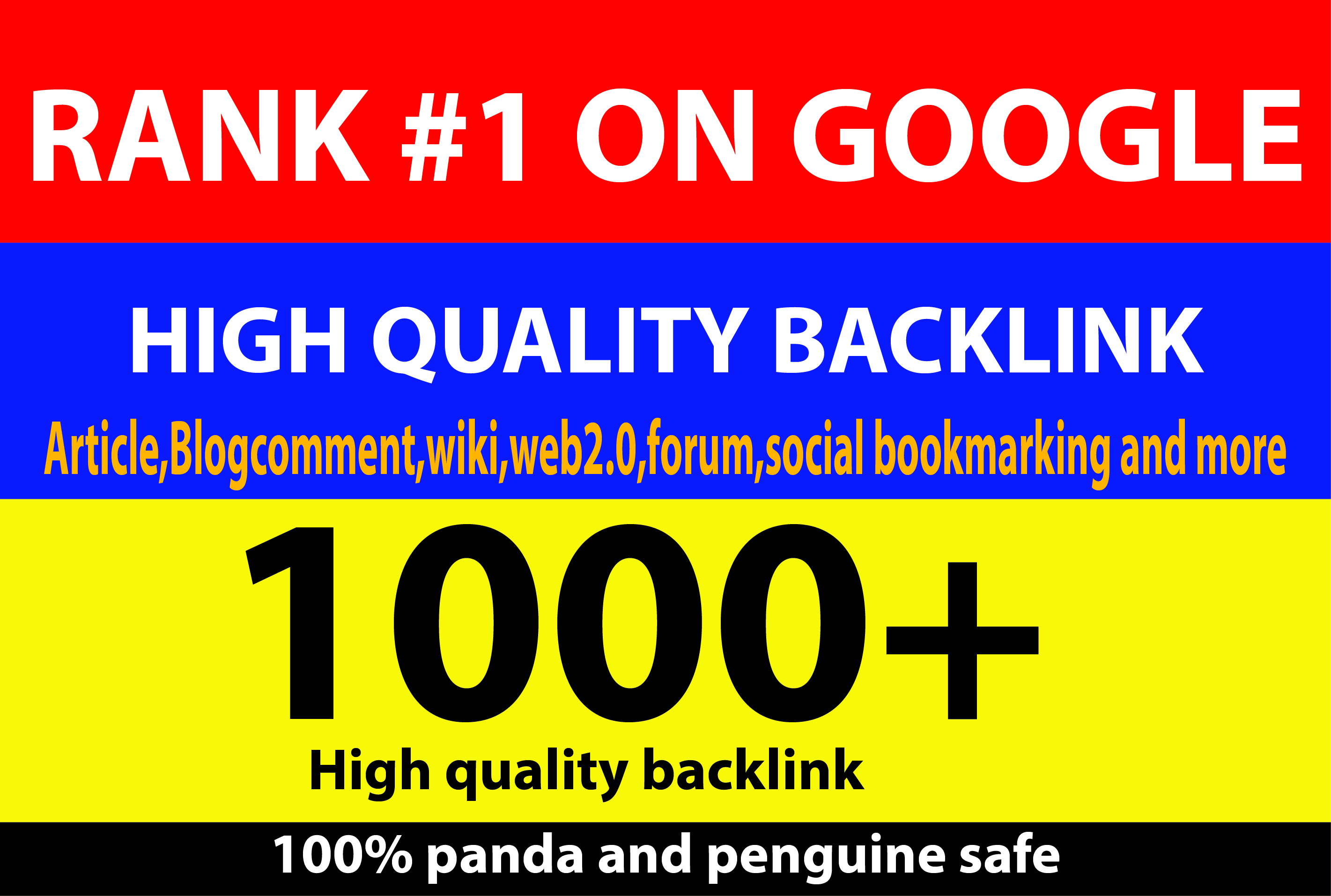 build 10,000 Dofollow and Nofollow Backlink google Safe