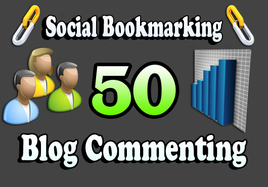 I will do 20 unique domain Blog Commenting Plus 30 Social bookmarking