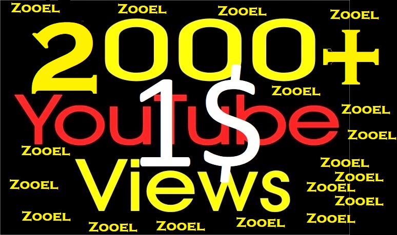 I will Add 5000+ High Quality Youtube views Fast Delivery with 5 likes
