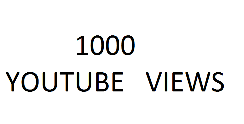 1000 Country Targeted You tube Views