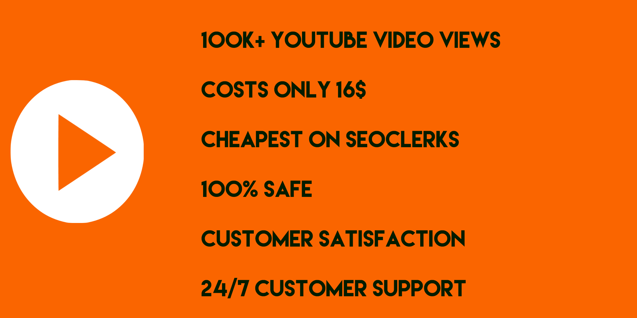 Get 100K+ Youtube video viewers