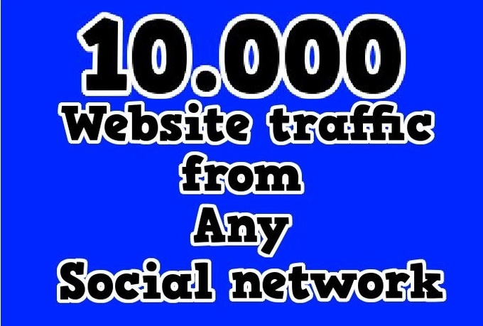 I will send you 10,000 Real Social Search Traffic visitors to boost your Google PR