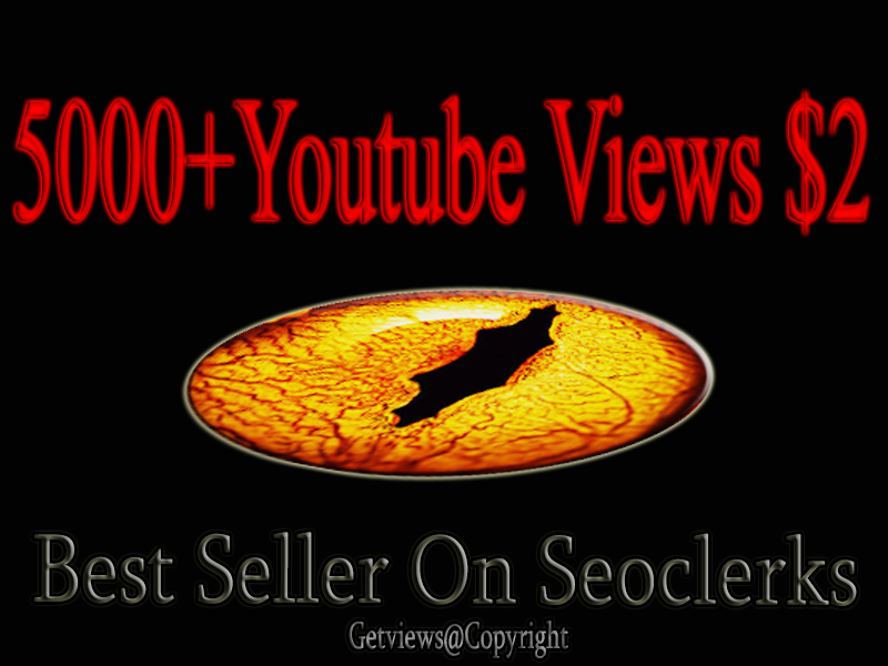 5000 High Retention Youtube views