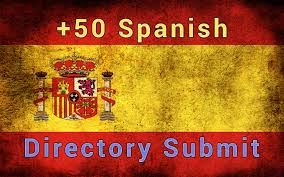 I will submit 61 Spanish Web directory submissions,  Spain