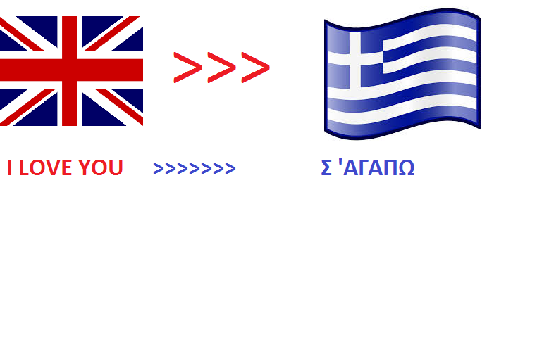 We will translate 500 English words to GREEK