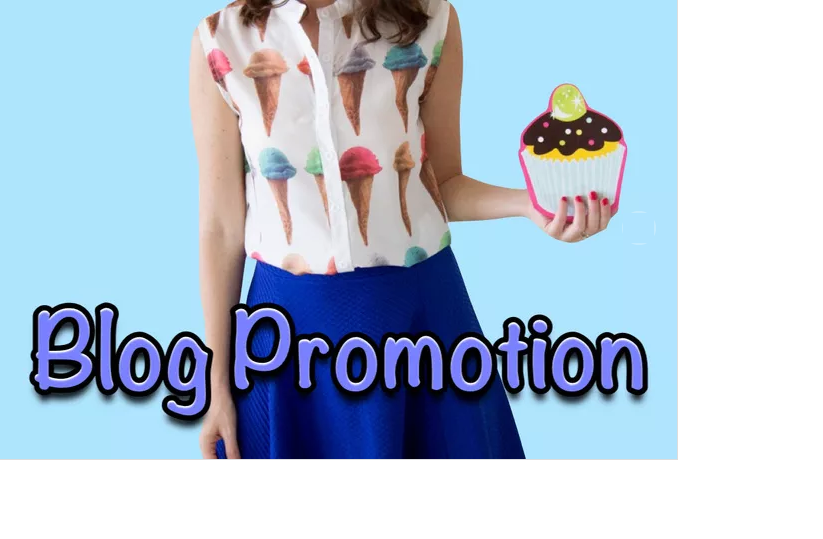 promote your product on my blog