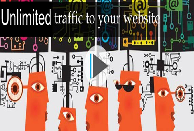 I will show how to get unlimited traffic to your site or blog for