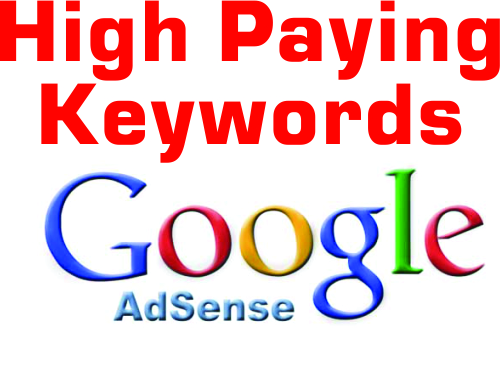 List of 5000+ high paying CPC keywords for Adsense