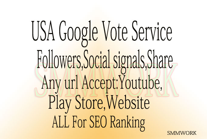 I Will Add U 100+ REAL USA Google +1 Plus Vote Shar for Websites Only