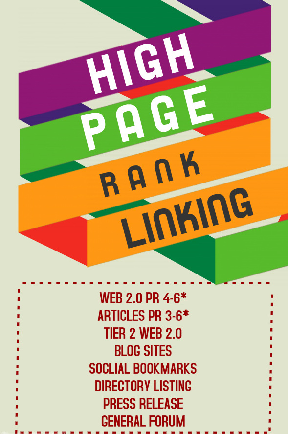 Improve your site rank by MANUALLY created HIGH PR BACKLINKS