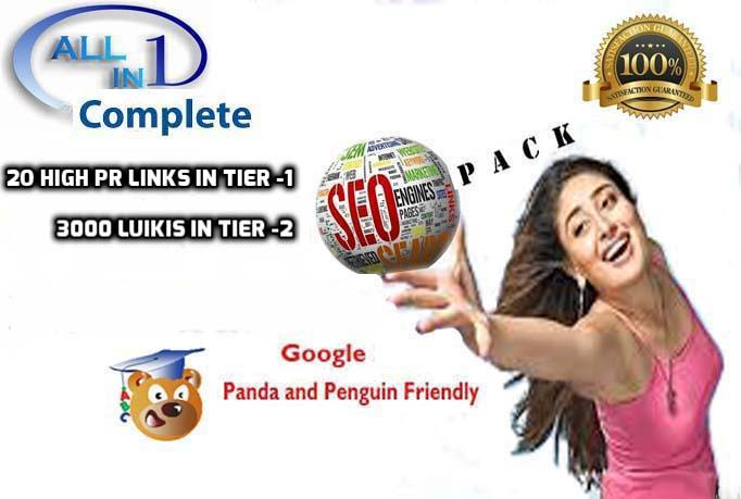 Build link wheel using top 10 web2 sites with social signal and wikis best for seo