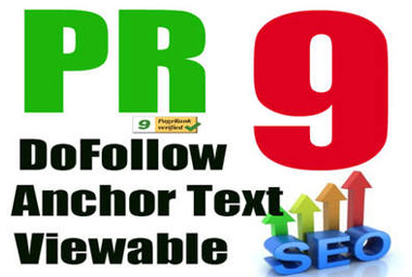 I will manually create 30 PR9 Safe High PR Backlinks Dofollow Edu