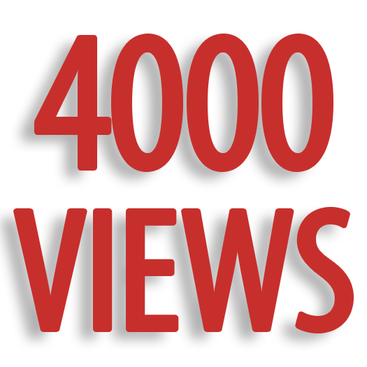 Give You 4000+ Youtube views With refill guarantee