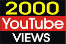 Give You 2000 NON Drop + Splitable Youtube Views  for $1