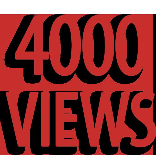Give You 4099+ NON Drop + Splitable Youtube Views