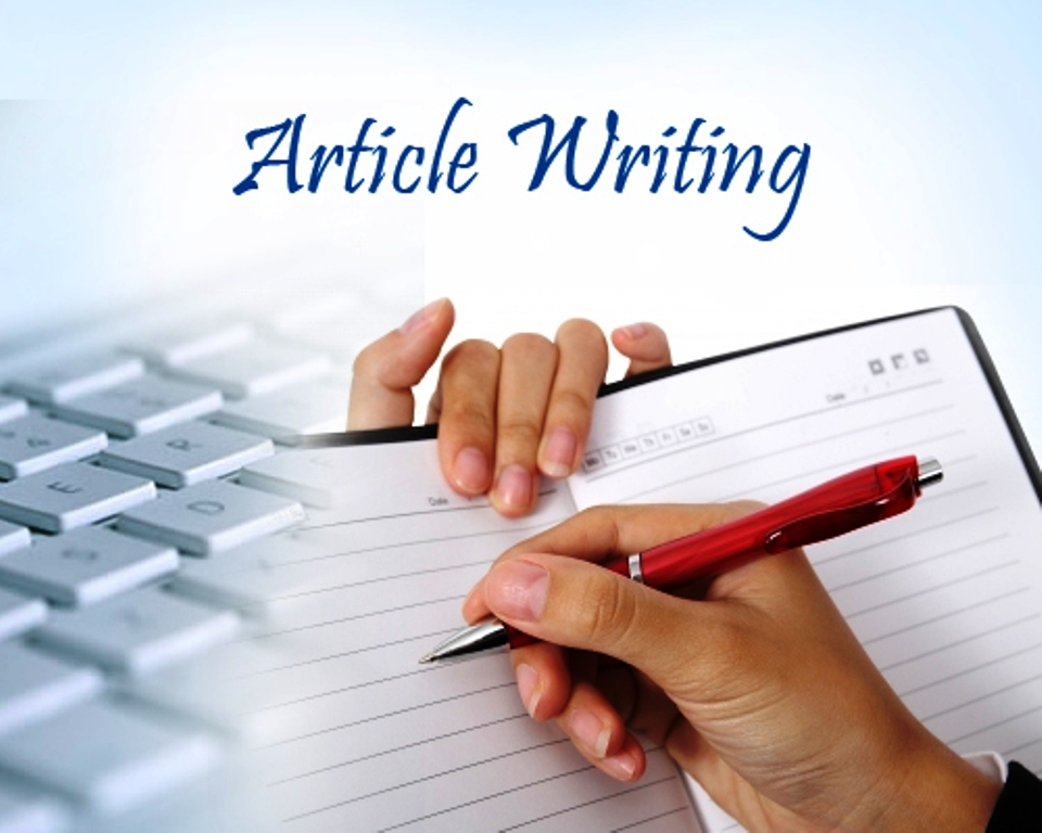 1 could write either 2 articles, 600 words each one.