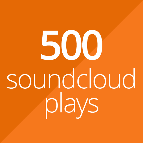 500 SoundCloud plays