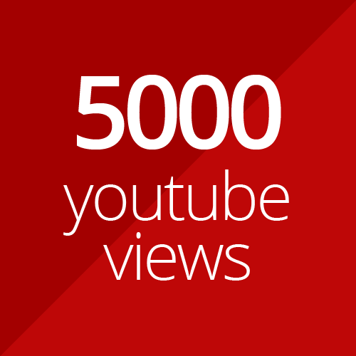 5000 high quality YouTube views