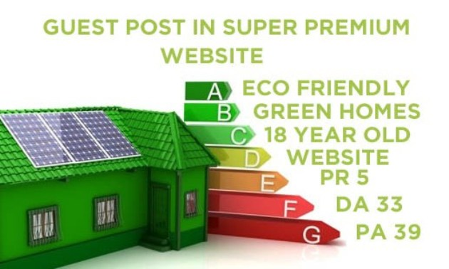 I Will Give a Guest Post in PR5,18 Year Old, PA39 Green Living, Eco Friendly Website Blog Review