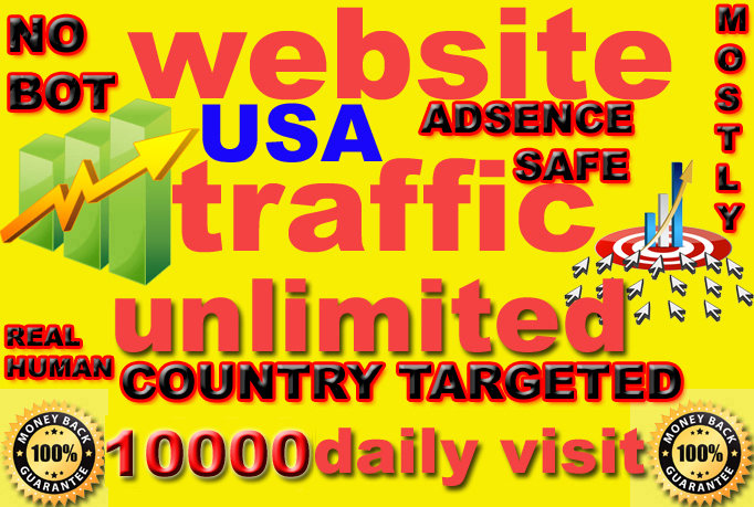 drive 100k genuine real traffic to your website