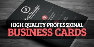 design High quality professional Business card.