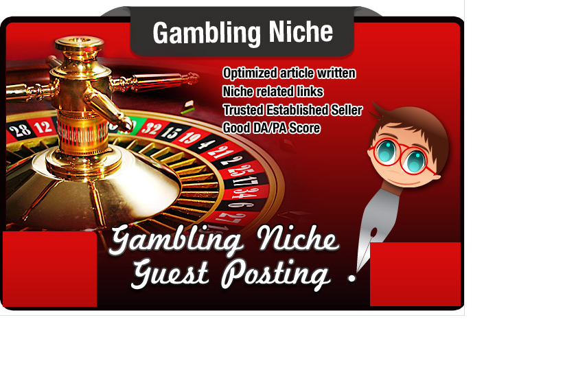 guest Post and Write an Seo Optimised Article on a GAMBLING Niche Site