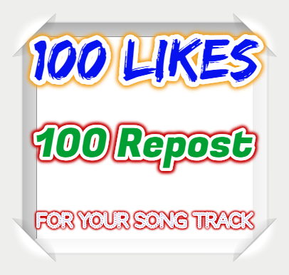 100 Likes-Favorites Or 100 Repost Or 100 Followers  within 24 hours