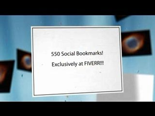 social BOOKMARK ur urls to 550 unique social bookmark & 5 days drip feed indexing service