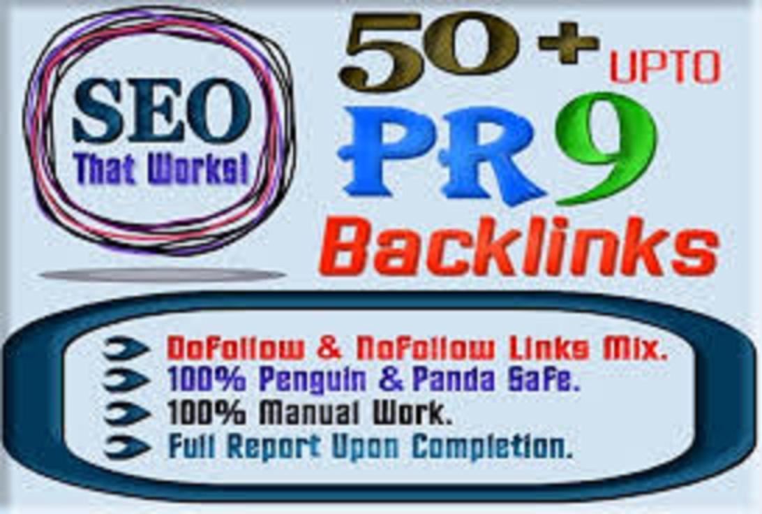 assemble 50 backlinks from PR9 domains