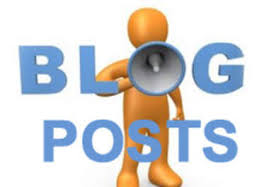 create blog posts on a niche blog network..