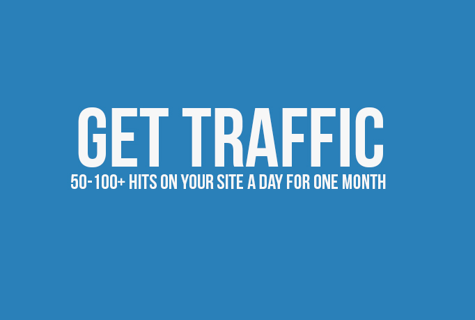 I will send Unlimited genuine traffic to a website of your choice for 30 days