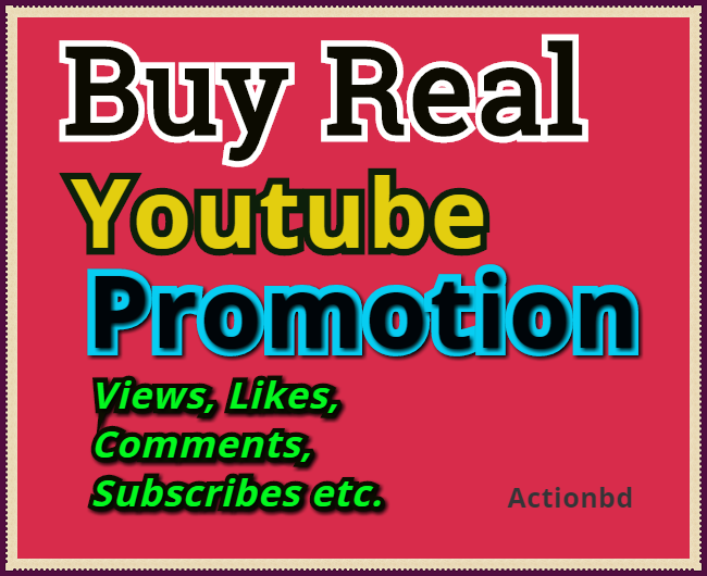 Add 5500 YouTube Views, 1350 Likes ,10 Comments 5 Subscribes Only