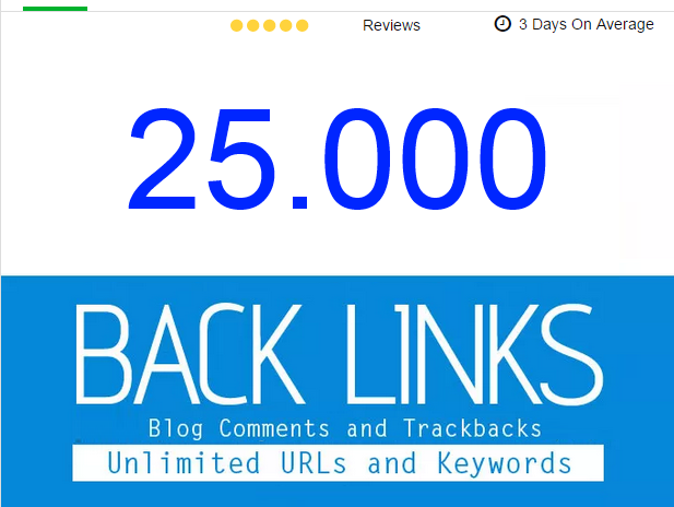 post 25,000 Blogs Comments, Backlinks , first page google