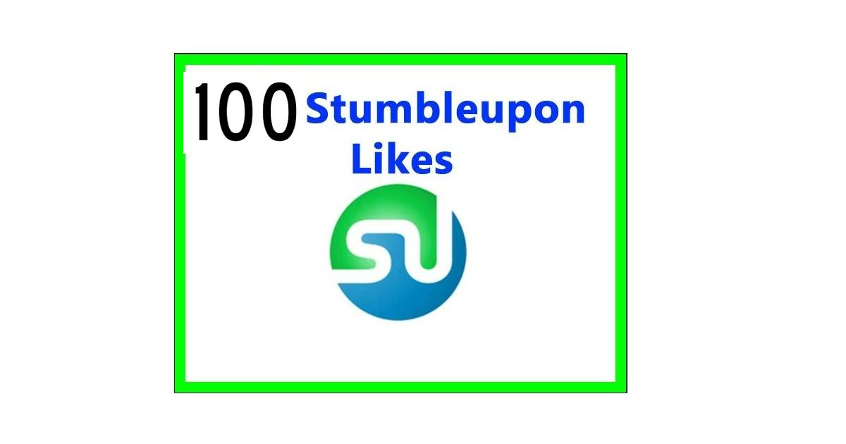 I Will Provide 100 StumbleUpon Bookmarks Likes For Your Website
