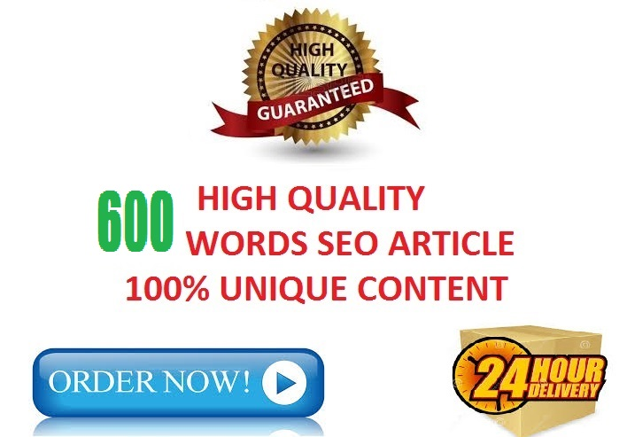 write 600 words article in 24 hours