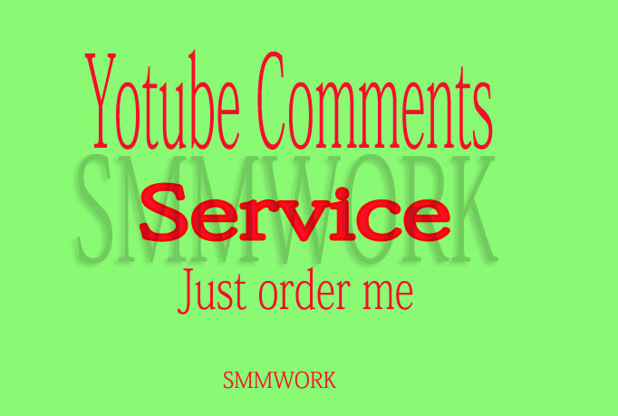 YouTube Custom 50 Comments in Your Video only