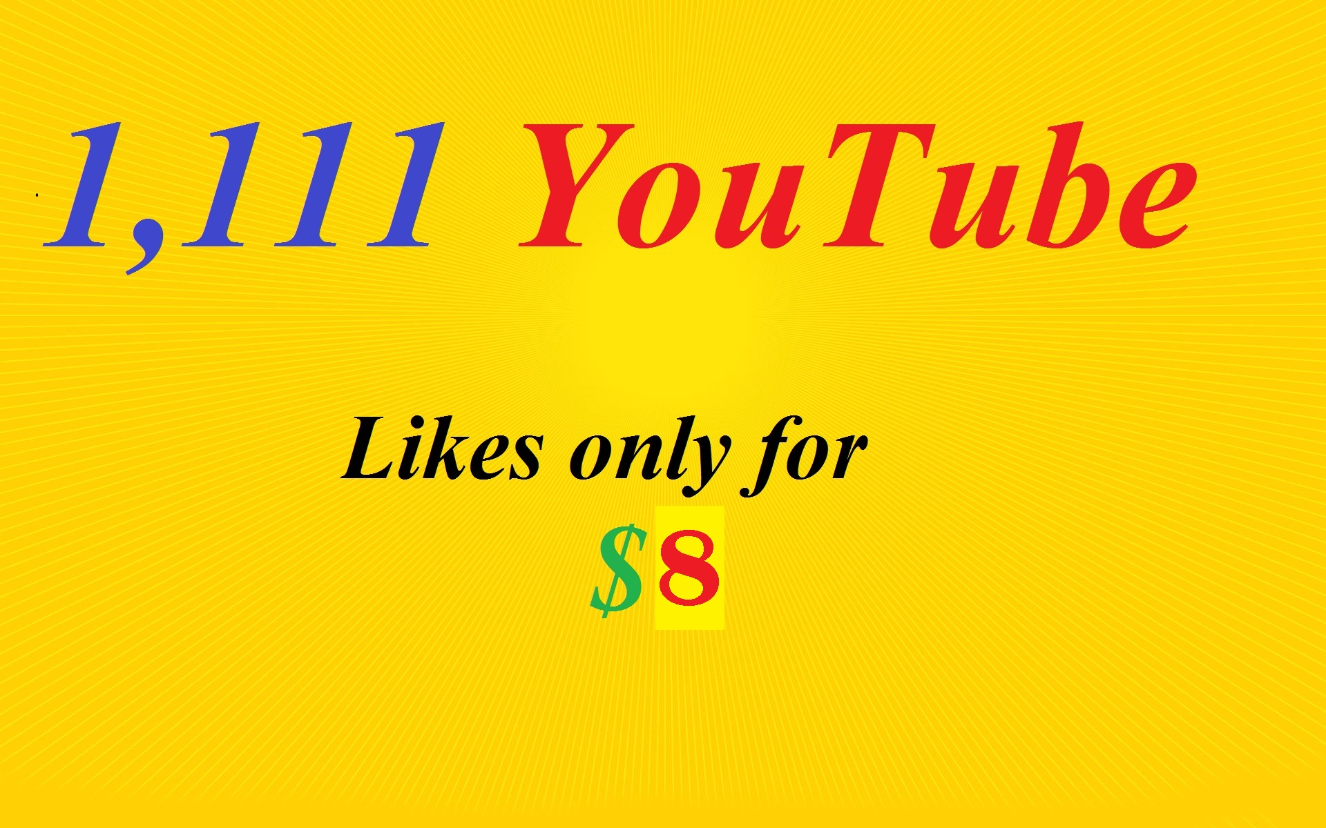 I will give you 1,000+ YouTube VideoLikes
