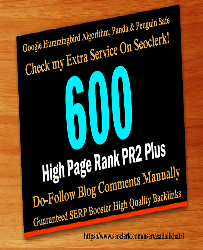 Submit 120 Unique Domain High Quality Backlinks Improves SEO In 2019