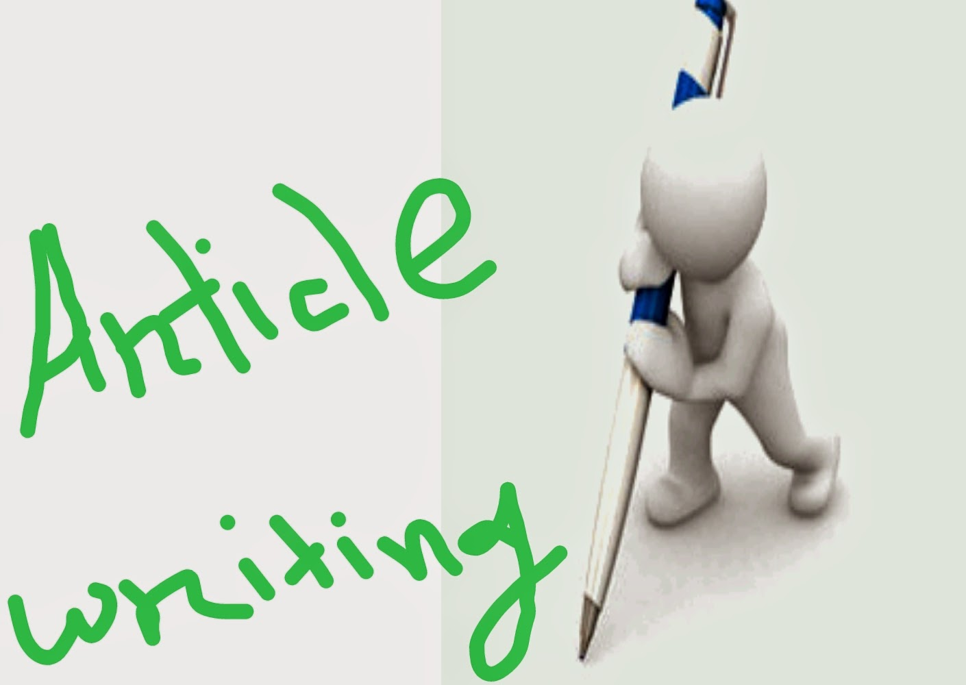 Provide Your Article Writing