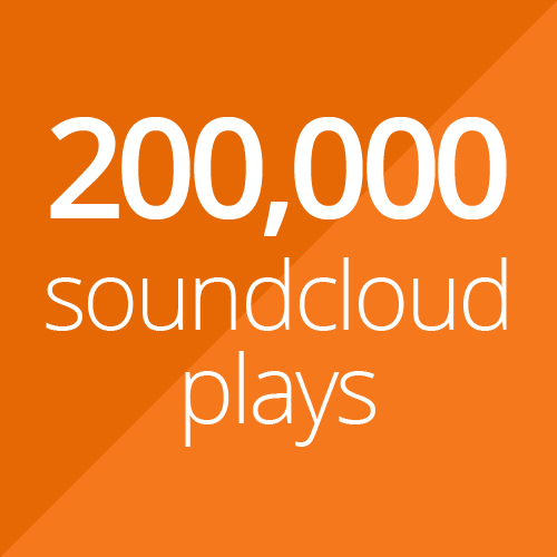 200,000 SoundCloud plays + 200 likes