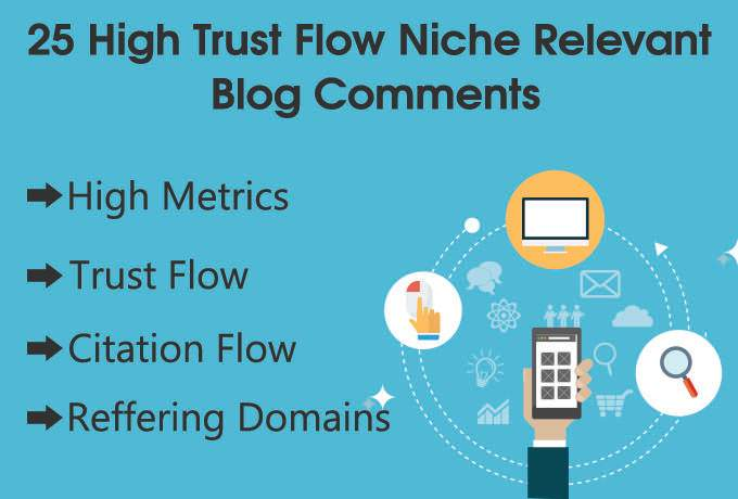 do high TF 25 Niche Relevant Blog comments backlinks less than 50 obl